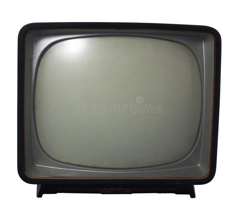TV vieja - Concepto de la televisión imagenes de archivo