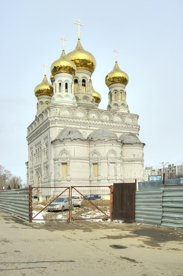 Tver Bâtiment de temple photos stock