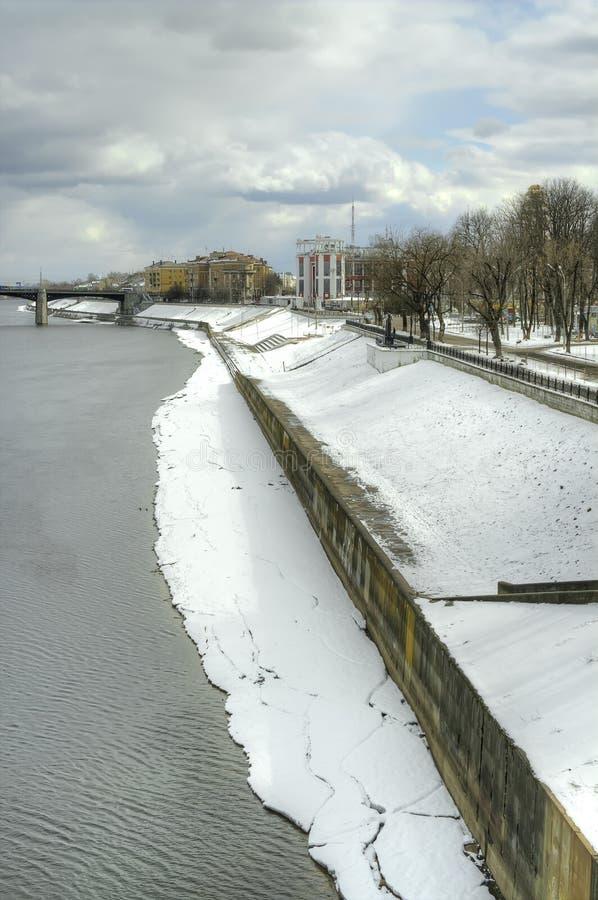 Tver Paysage urbain photo stock