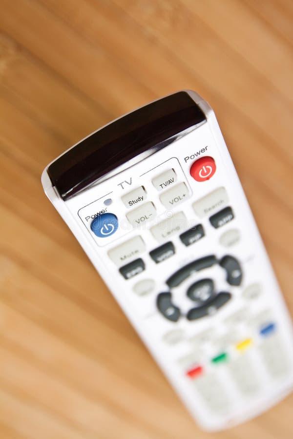 TVfjärrkontroll royaltyfri bild