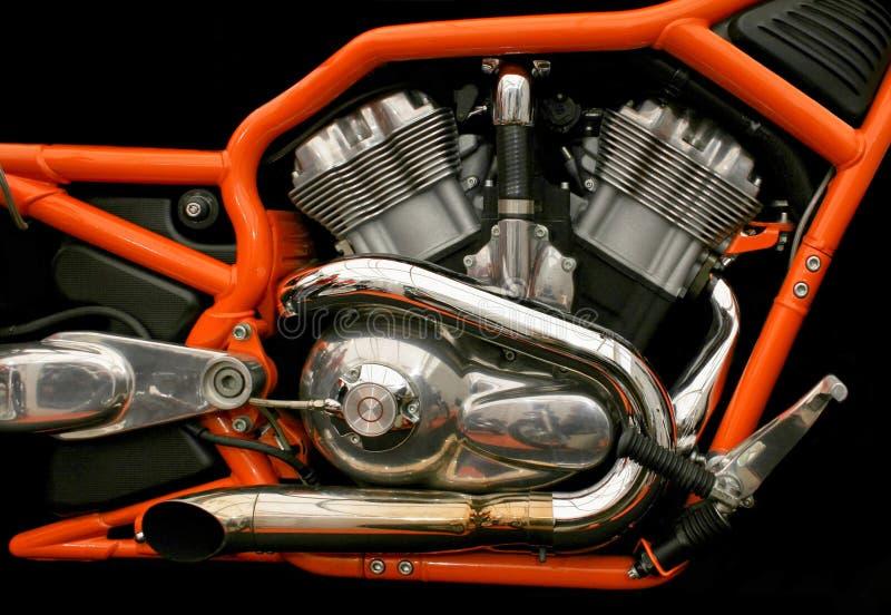 tvilling- motor arkivfoton