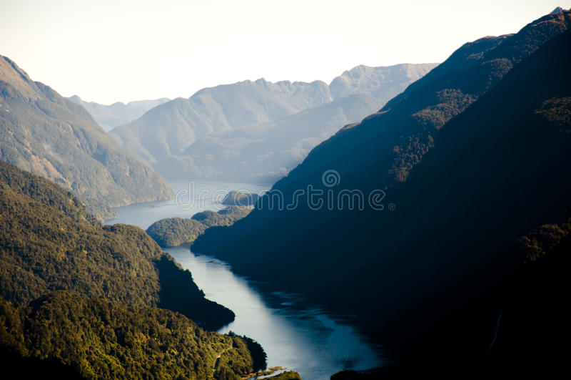 Tvivelaktigt ljud - Nya Zeeland royaltyfri bild