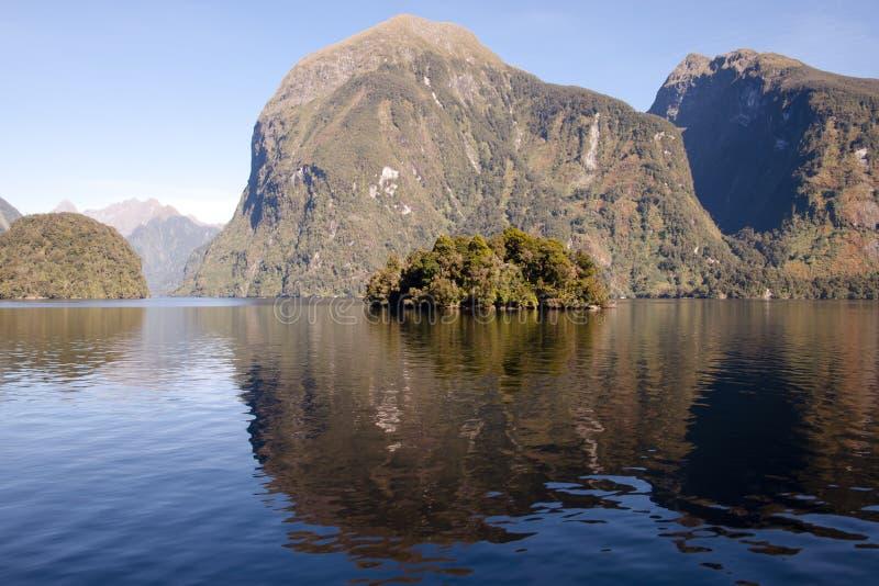 Tvivelaktigt ljud - Nya Zeeland royaltyfria bilder