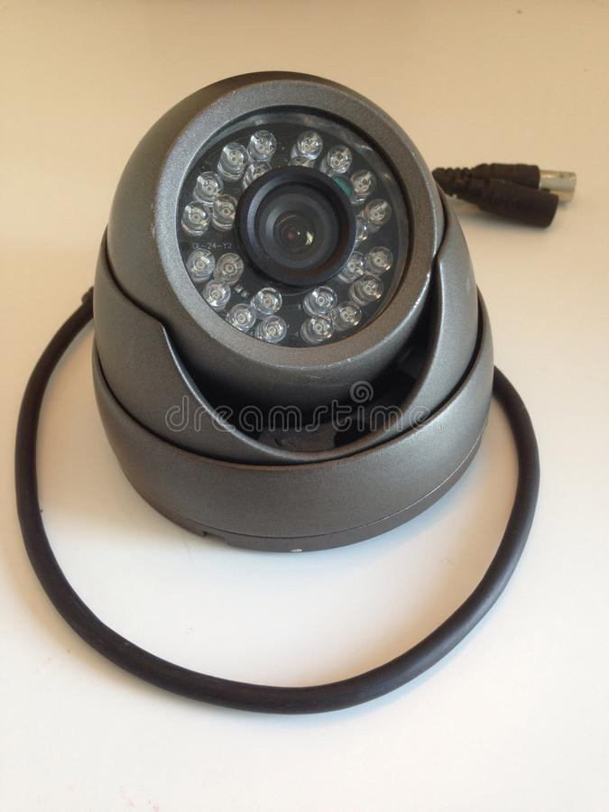 Tvl della macchina fotografica 700 della cupola del CCTV immagine stock