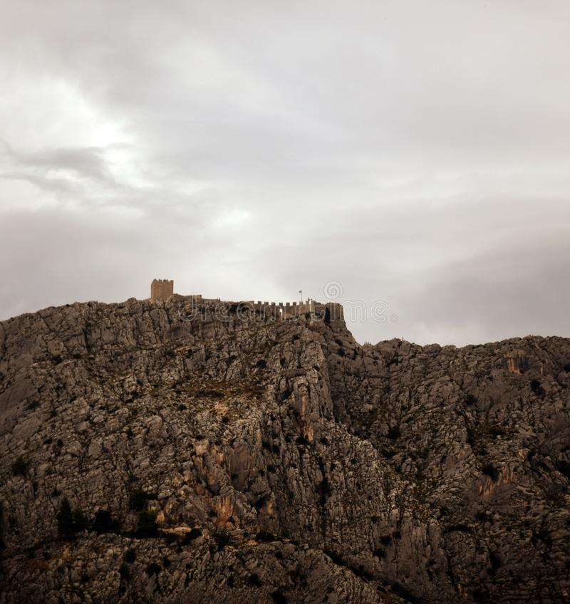 Tvrđava Starigrad-Fortica - Old Croatian Fortress royalty free stock images