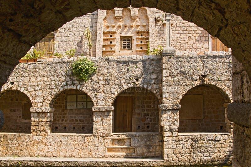 Tvrdalj Castle 3, Stari Grad, Island Hvar, Croatia stock photo