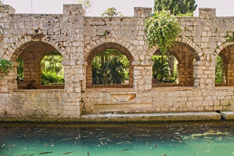 Tvrdalj Castle 5, Stari Grad, Island Hvar, Croatia royalty free stock photography