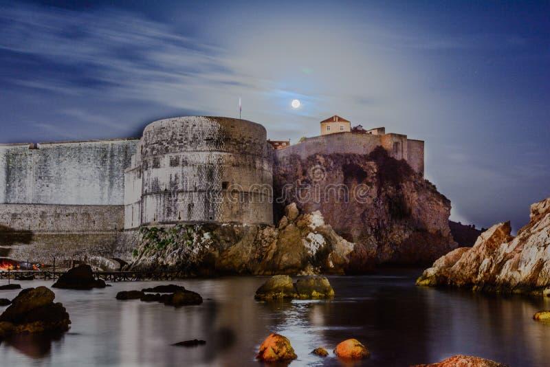 Tvrdova Bohar, Дубровник, Хорватия стоковые фото