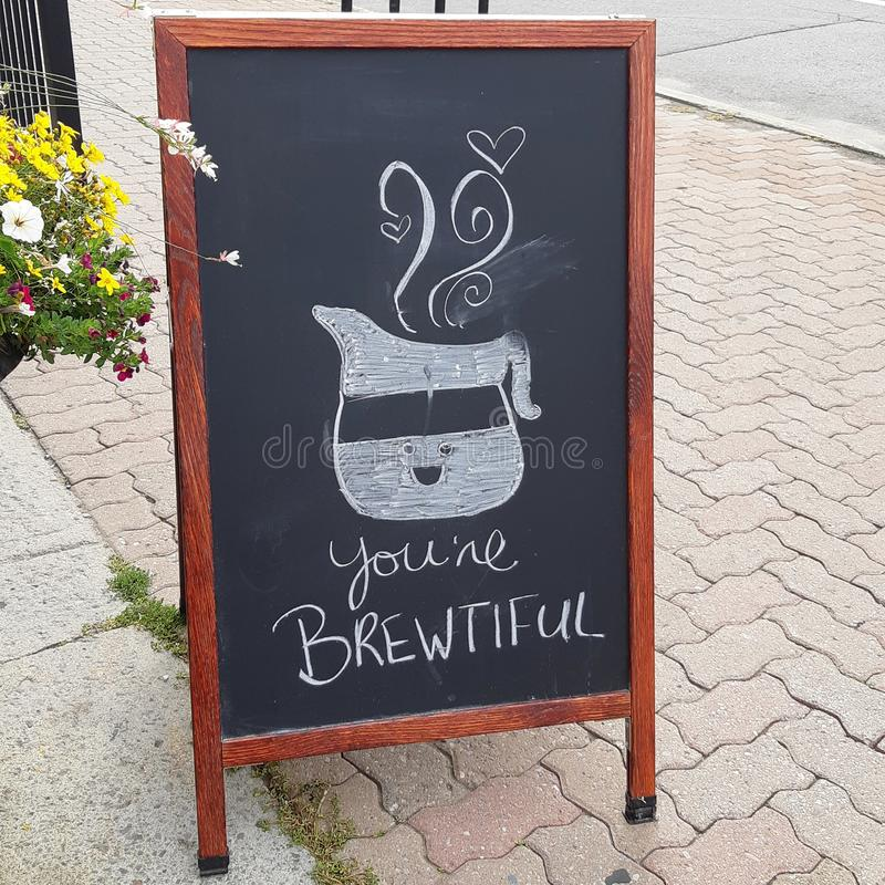 Twój Brewtiful zdjęcie stock