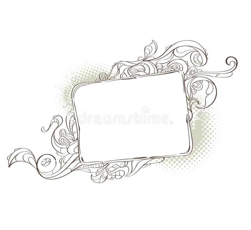 twój dziwaczny tło tekst royalty ilustracja