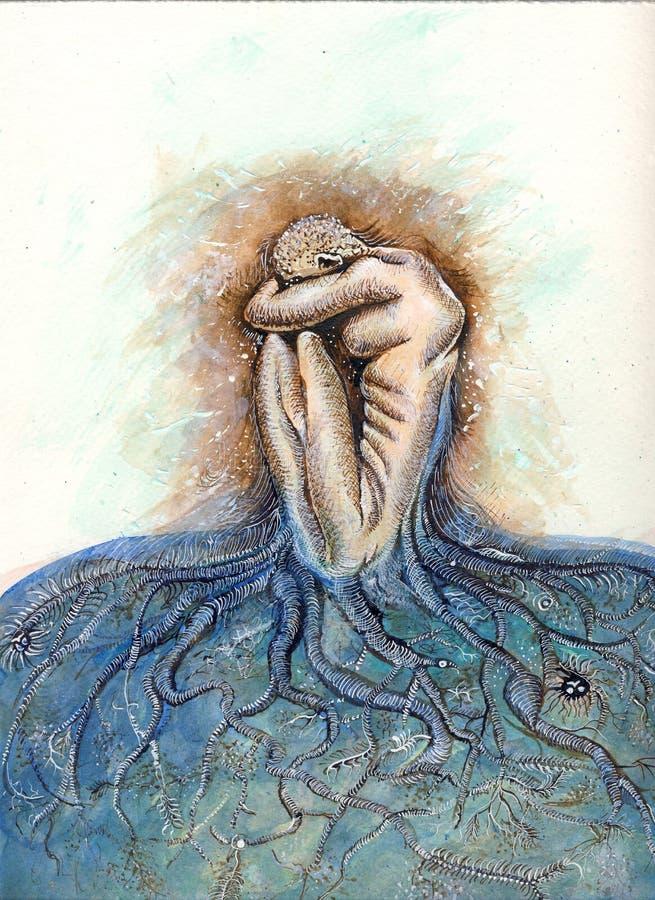 Twój korzenie Mogą Zniewalać Was ilustracja wektor