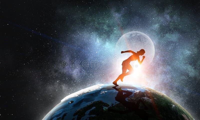 Twój niekończący się motywacja i energia obrazy royalty free