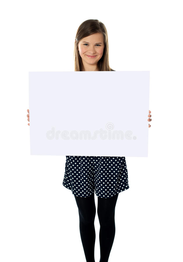 twój reklama tutaj zdjęcia stock