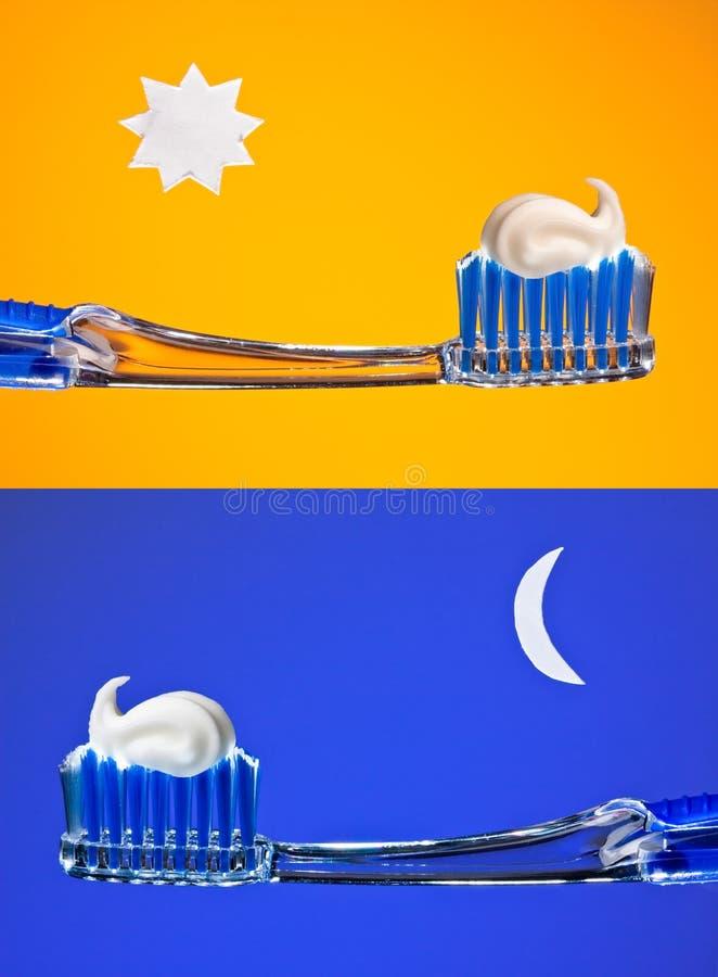 twój szczotkarscy zęby obraz stock