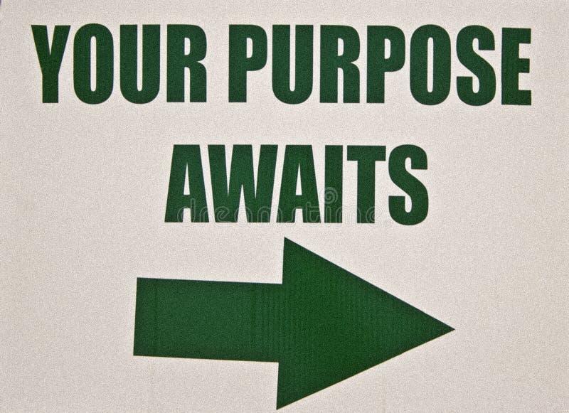 twój szyldowi purpose czekania obraz royalty free