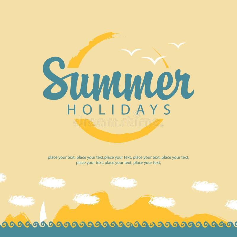 Download Twój Wakacje Rodzinny Szczęśliwy Lato Ilustracja Wektor - Ilustracja złożonej z wolność, przygoda: 53783049