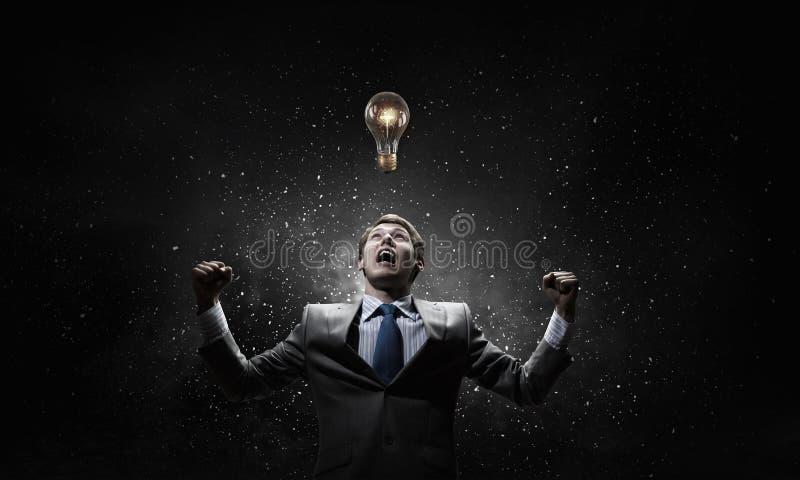 Twórczość jest mój władzą zdjęcia stock