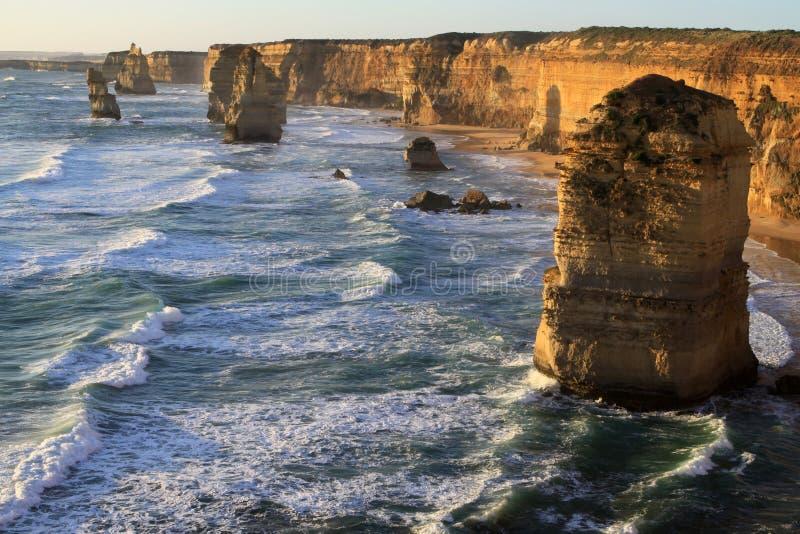 Twaalf Apostelen. Australië stock foto