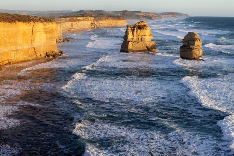 Twaalf Apostelen. Australië royalty-vrije stock afbeelding