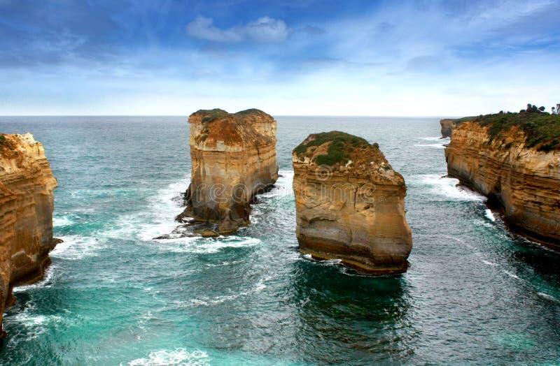 Twaalf apostelen, Australië royalty-vrije stock afbeeldingen
