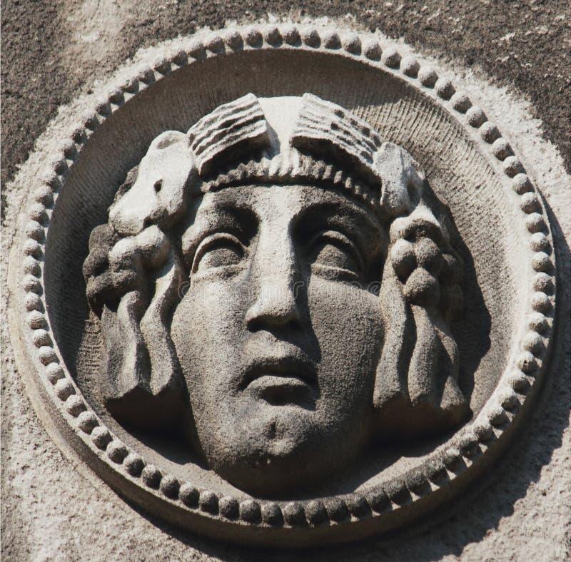 Twarz bogini Hera zdjęcie stock