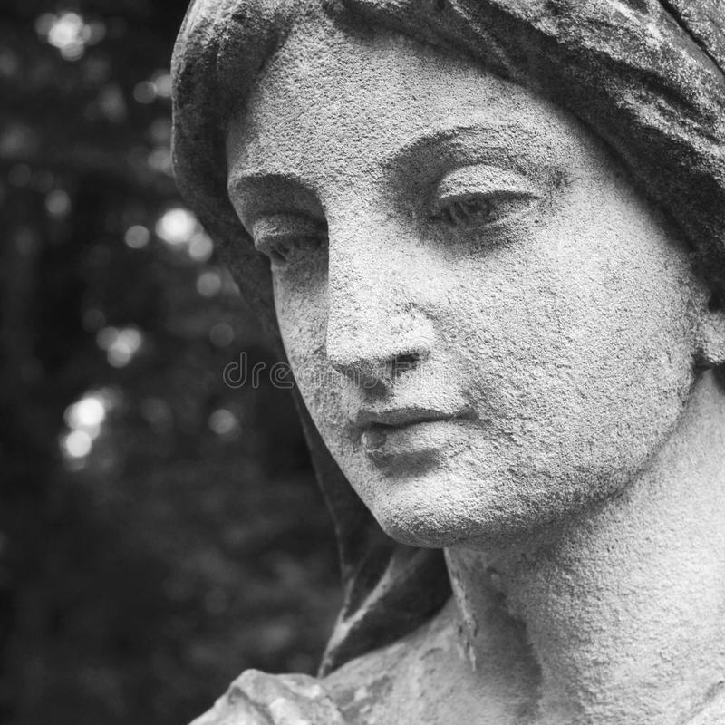 Twarz bogini miłości Aphrodite (Wenus) zdjęcia stock