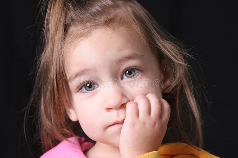 Download Twarz dziecka zdjęcie stock. Obraz złożonej z hairball - 142600