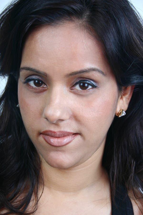 twarz hindusa serii obraz stock