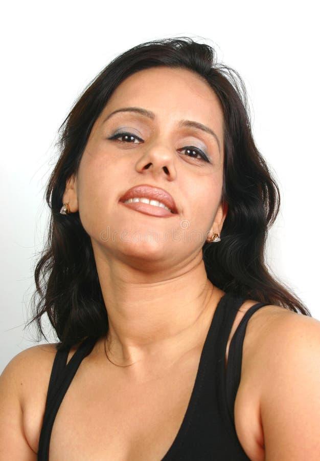 twarz hindusa serii zdjęcia stock