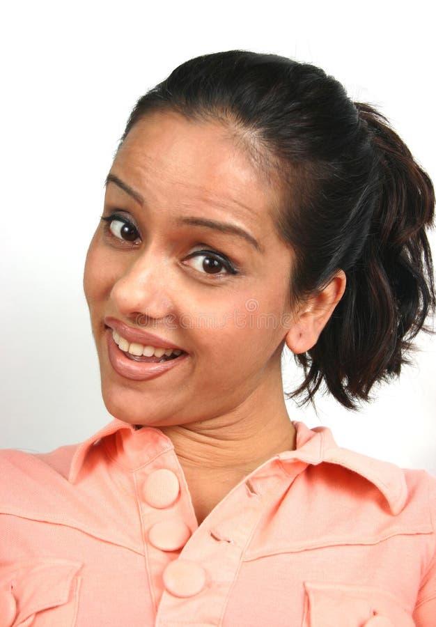 twarz hindusa serii zdjęcie stock