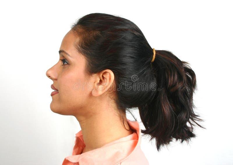 twarz hindusa serii obrazy stock