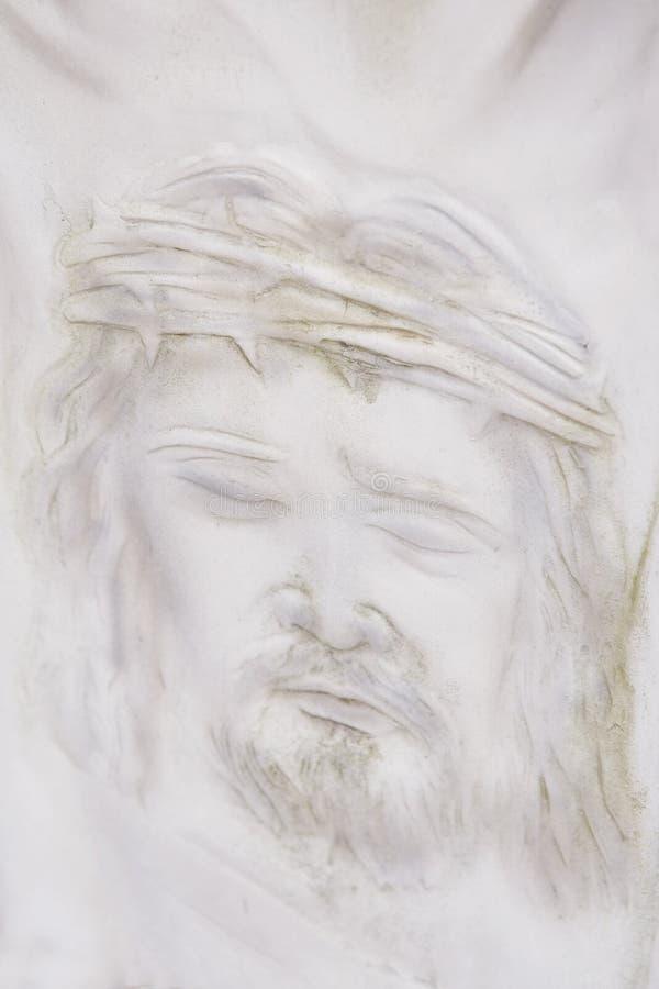 twarz Jesus obraz royalty free