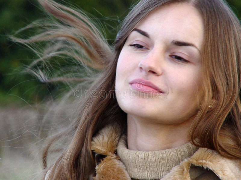 twarz kobiety zdjęcia stock