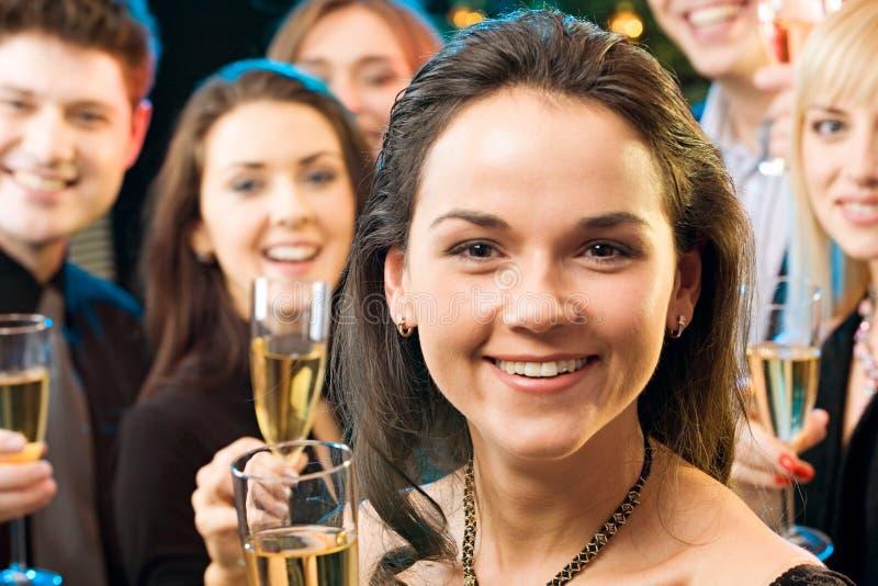 twarz kobiety obrazy royalty free