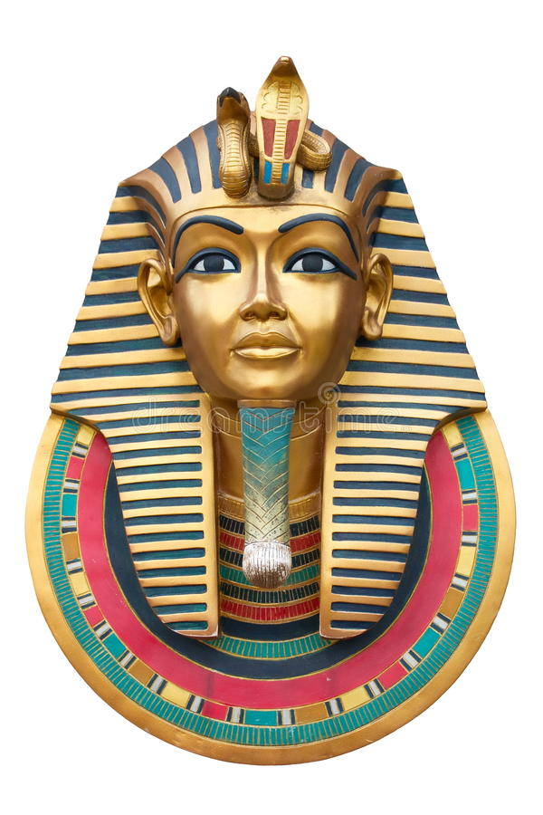 Twarz Pharaoh fotografia royalty free