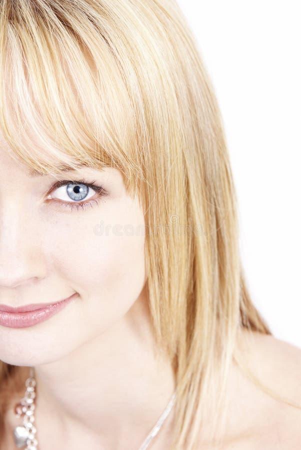 Twarz piękna kobieta obrazy royalty free