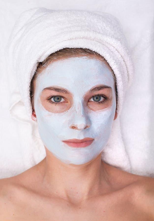 twarzowi ilustraci maski wektoru kobiety potomstwa obrazy royalty free