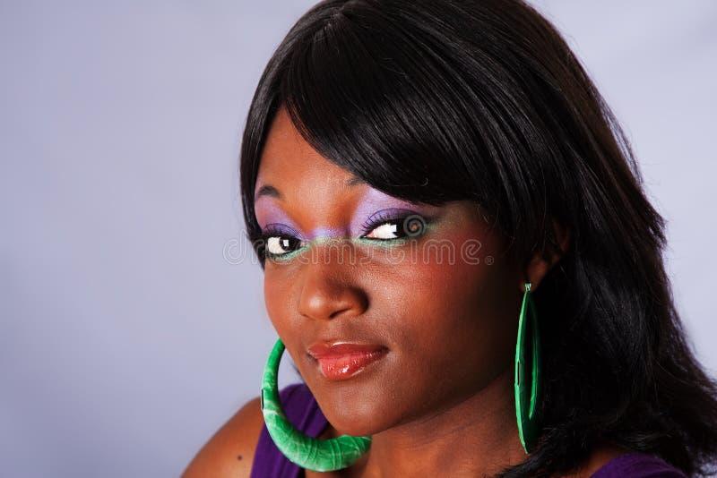 twarzy afrykańska piękna kobieta zdjęcia royalty free