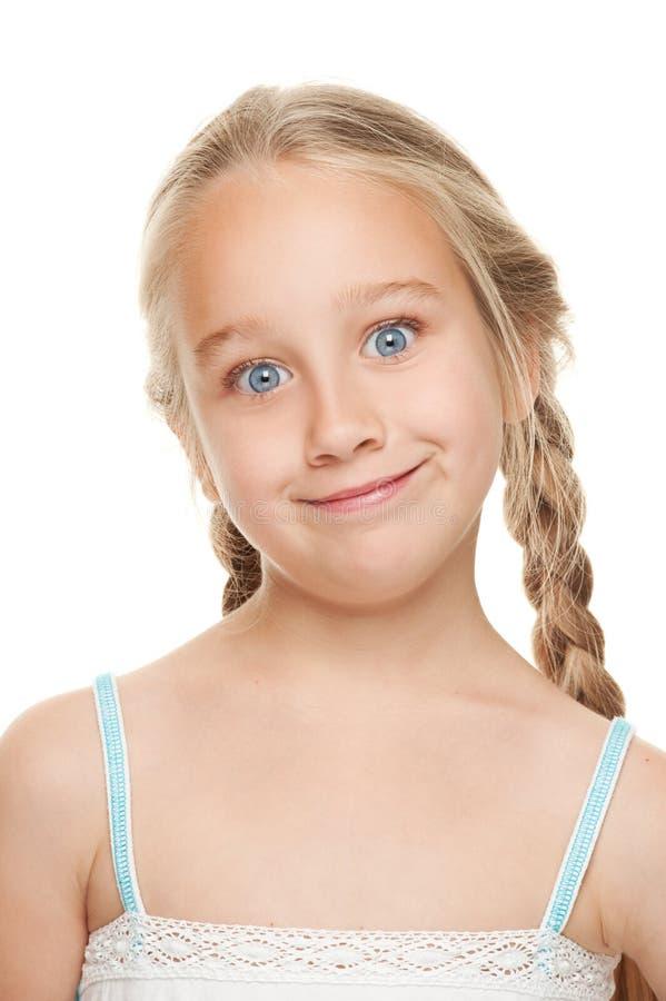 twarzy dziewczyny śmieszny robić obrazy royalty free