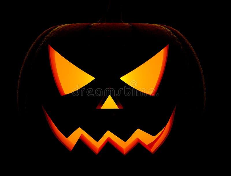 twarzy Halloween bania straszna royalty ilustracja