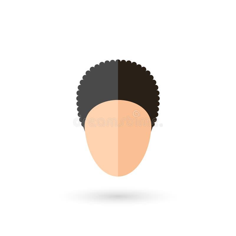 Twarzy ikona ilustracji