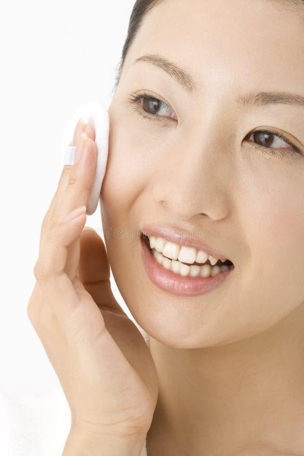 twarzy japończyka kobieta fotografia stock