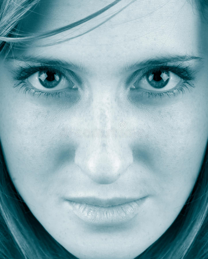 twarzy kobieta obrazy stock