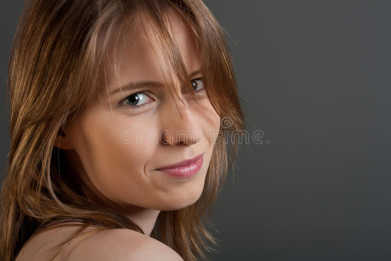twarzy kobiety potomstwa obrazy royalty free