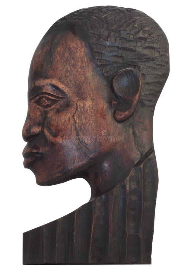 twarzy mężczyzna drewno zdjęcie stock