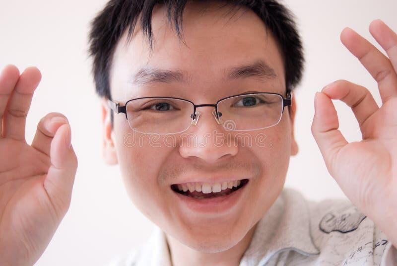 twarzy mężczyzna potomstwa zdjęcie stock