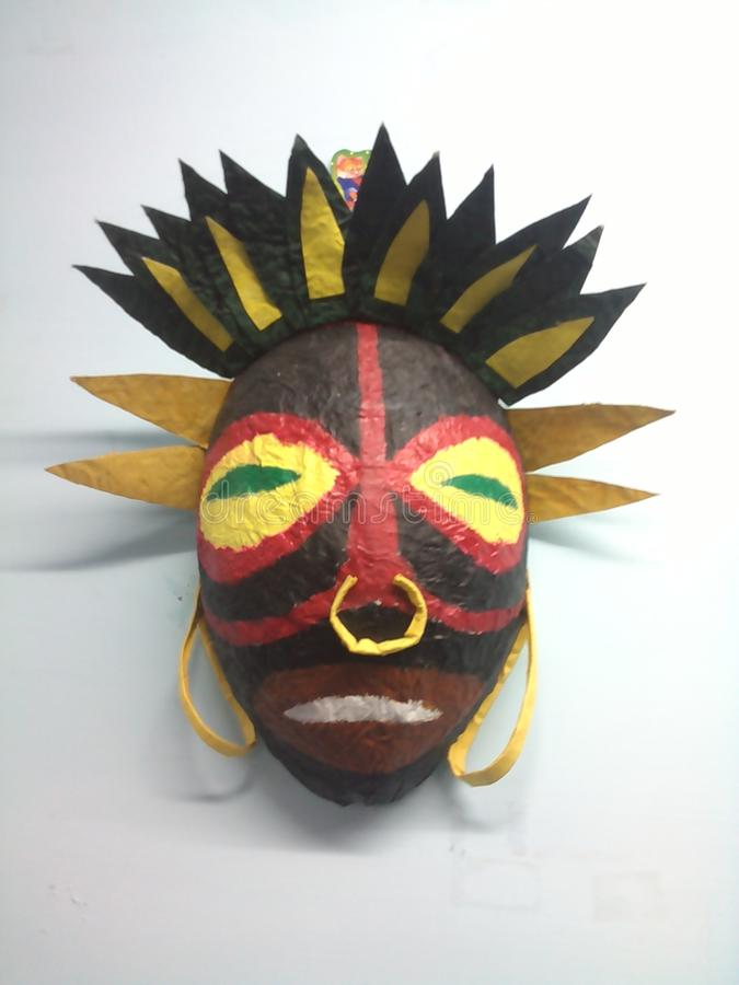 Twarzy maska obrazy royalty free
