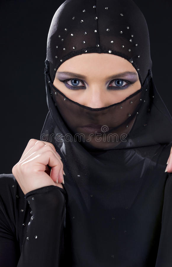 twarzy ninja obraz royalty free