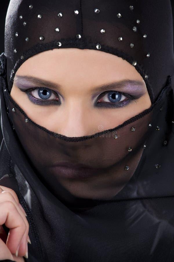 twarzy ninja zdjęcia stock