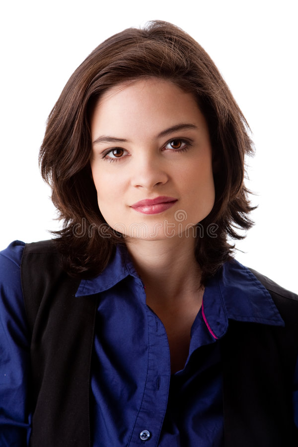 twarzy piękna biznesowa kobieta zdjęcia stock